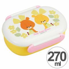 お弁当箱 小判型 がんばれ ルルロロ 270ml 子供用 キャラクター ( 食洗機対応 ランチボックス 小判型弁当箱 1段 子供用お弁当箱