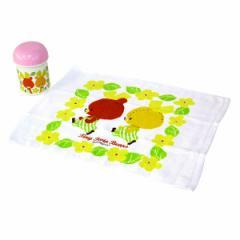 おしぼりセット がんばれ ルルロロ 子供用 キャラクター ( おしぼりケース おしぼりタオル 遠足 おしぼり 行楽 ピクニック TINY TWI