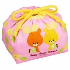 お弁当袋 ランチ巾着 がんばれ ルルロロ 子供用 キャラクター ( 子ども用 給食袋 子供用お弁当袋 ランチボックス巾着 綿100% 日本