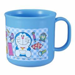 コップ プラスチック ドラえもん 200ml 子供 ( レンジ対応 食洗機対応 プラカップ キャラクター プラコップ カップ 日本製 マグ キャラ