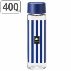 水筒 直飲み プラスチック LOGOS スクエアボトル 400ml 軽量 ( スリム クリアボトル 常温 マグボトル ボトル ダイレクトボトル ウォータ