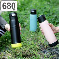 水筒 ステンレス スポーツドリンク対応 ストロータイプ 680ml ( ステンレスボトル 保冷専用 ストロー 0.68L ボトル スポーツボトル ステ