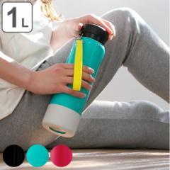 水筒 ステンレス スポーツドリンク対応 スポーツマグ 1L ストラップ付 ( 保温 保冷 ステンレスボトル マグタイプ マグボトル スポーツボ