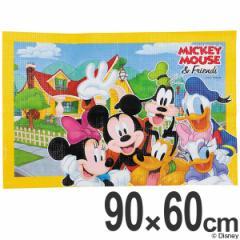 レジャーシート ソフトクッションレジャーシート 1人用 ミッキーマウス 90×60cm ディズニー ( レジャーマット 敷物 子供用 遠足 アウト