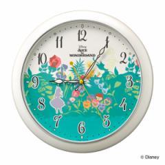 掛け時計 アリス 時計 壁掛け時計 不思議の国のアリス ( クオーツ時計 掛時計 壁掛け ふしぎの国のアリス クロック ウォールクロック と