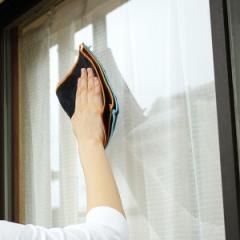 クロス マイクロファイバー 窓拭きダスター ( 8面 8枚分 大容量 窓掃除 ふきん 布巾 ぞうきん 雑巾 窓 掃除 清掃 本型 キッチン 車 極細