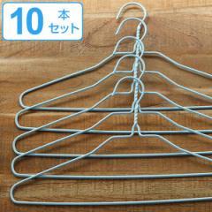洗濯ハンガー 洗濯ハンガーDX 10本セット ( ハンガー 収納 洗濯 スリム 薄型 10本 パステルカラー 物干しハンガー 衣類ハンガー 襟 立体