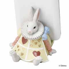 スマホスタンド ふしぎの国のアリス ラビット ( 携帯ホルダー 携帯スタンド スマホ 携帯 アリス うさぎ 白うさぎ 卓上 iPhone アイフォ
