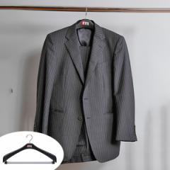 ハンガー ジャケット回転式47 F−Fit ( 衣類 収納 衣類収納 コートハンガー ジャケットハンガー ジャケット用ハンガー 黒 メンズ 紳士服