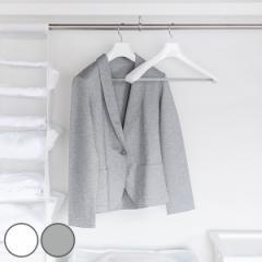 ハンガー ジャケット モノクローゼット フォーマルハンガー 白 ( 衣類ハンガー ジャケットハンガー 衣類収納 衣類 収納 スーツ コート
