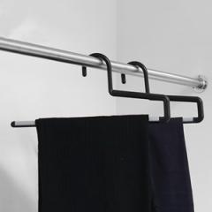 ハンガー ズボン用 シンコハンガー F-FIT ストップバー ( ズボン スラックス スラックスハンガー ボトムハンガー ボトムスハンガー パン