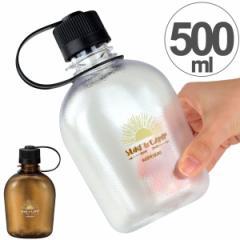 水筒 プラスチック製 クリアボトル NH キャンティーン SURF&CAMP 500ml ( 常温 ペットボトル マグボトル スポーツボトル 直飲み