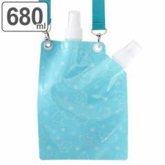 水筒 ミスト付き 直飲み ねこっと 680ml ( ボトル ミストスプレー ダイレクトボトル マイボトル コンパクト スプレー ダイレクト 子供
