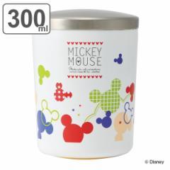 フードポット 弁当箱 保温 スープジャー 真空デリカポット シンプル設計 300ml ミッキーマウス ミツマルポップカラー ( ミッキー スープ