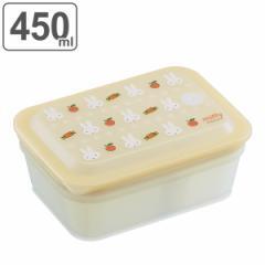 保存容器 抗菌 パッキン一体型保存容器 ミッフィー ( フードストッカー 食洗機対応 電子レンジ対応 プラスチック ミッフィ フードコンテ