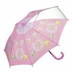 傘 キッズ 35cm ミュークルドリーミー 女の子 キャラクター ( 子供用 窓付き かさ 小さい 小さめ サンリオ 幼稚園 保育園 手開き 安全