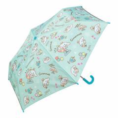 折りたたみ傘 子供用 53cm シナモロール おやつタイム 子ども用折りたたみ傘 傘 折りたたみ ( シナモン かさ カサ アンブレラ 雨具 レイ
