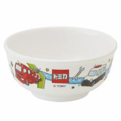 茶碗 240ml メラミン製 トミカ19 食器 キャラクター 食器 ( 食洗機対応 お茶碗 ご飯茶碗 割れにくい トミカ 子供茶碗 子供 用 子ども 子