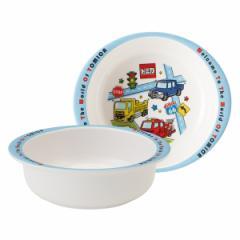 ボウル 13cm メラミン製 トミカ19 食器 キャラクター 食器 ( 食洗機対応 小鉢 うつわ 器 割れにくい トミカ 椀 子供 用 子ども 子供 キ