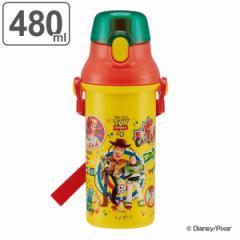 【クーポン配布中】水筒 直飲み プラワンタッチボトル トイストーリー4 480ml キャラクター 子供 ( プラスチック トイストーリー 子供用