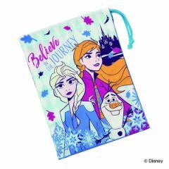 コップ袋 アナと雪の女王 子供 キャラクター 給食袋 ( 幼稚園 保育園 巾着 アナ雪 コップ入 給食 袋 子供用コップ アナと雪の女王2 アナ