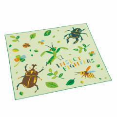 ランチクロス ナフキン インセクトファイター 子供 ( 幼稚園 保育園 ランチョンマット 昆虫 虫 お弁当包み ランチマット ナプキン 給食