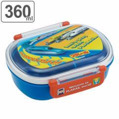 お弁当箱 子供 1段 プラスチック ふわっとタイトランチBOX プラレール 360ml ランチボックス ( 弁当箱 幼稚園 保育園 レンジ対応 食洗機