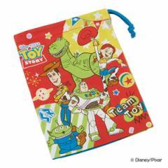 コップ袋 トイ・ストーリー 歯ブラシホルダー付き 子供 キャラクター 給食袋 ( 巾着 幼稚園 保育園 巾着袋 コップ入れ 子供用コップ袋