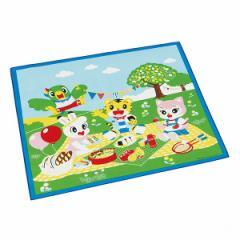 ランチクロス ナフキン しまじろう ピクニック 子供 ( 幼稚園 保育園 キッズ お弁当包み クロス 子ども用 ナプキン 給食ナプキン ランチ