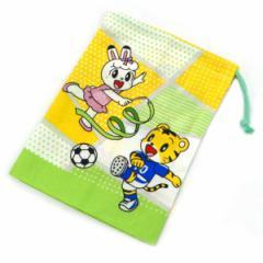 コップ袋 巾着 しまじろう スポーツ 子供 ( 幼稚園 保育園 キャラクター 給食袋 コップ入れ 子供用コップ袋 お弁当グッズ キッズ ランチ