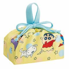 お弁当袋 ランチ巾着 クレヨンしんちゃん キャラクター 子供 給食袋 ( 巾着 幼稚園 保育園 子供用 弁当巾着 ランチバッグ 巾着袋 キッズ