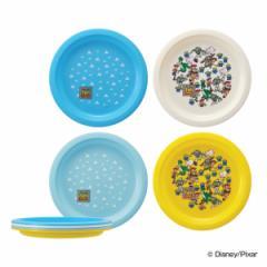 プレート アウトドア トイ・ストーリー プレート4枚セット ( 皿 お皿 プラスチックプレート 4枚 日本製 キャラクター キャラ 軽い プラ