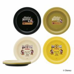 プレート アウトドア ミッキーマウス プレート4枚セット ( 皿 お皿 プラスチックプレート 4枚 日本製 キャラクター キャラ 軽い プラス