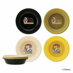 ボウル アウトドア ミッキーマウス ボウル4枚セット ( 皿 お皿 プラスチックボウル 4枚 日本製 キャラクター キャラ 軽い プラスチック