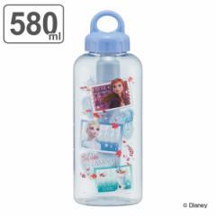 水筒 軽量 保冷チューブ プラスチック 取っ手 アナと雪の女王 580ml キャラクター ( アナ雪 子供 ダイレクトボトル 直飲み ボトル ディ