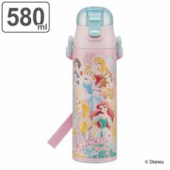 水筒 ステンレス 直飲み 軽量 ダイレクトボトル ディズニー プリンセス 580ml 子供 ( ディズニープリンセス ステンレスボトル すいとう