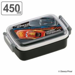 お弁当箱 1段 抗菌 カーズ 食洗機対応 ふわっとランチボックス 450ml 子供 ( マックイーン 弁当箱 キッズ ランチボックス レンジ対応 一