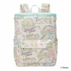 リュック 子供 保冷リュック ディズニー プリンセス キャラクター スクエア型 ( リュックサック バックパック キッズバッグ 保冷 バッグ