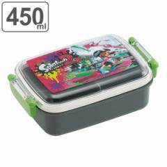 お弁当箱 1段 プラスチック ふわっと スプラトゥーン2 450ml 子供 ( splatoon 弁当箱 食洗機対応 レンジ対応 キャラクター キッズ ラン