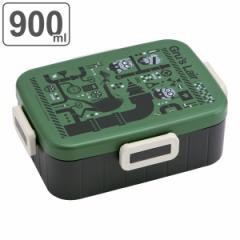お弁当箱 1段 4点ロック ランチボックス ミニオンズ メンズ 900ml ( ミニオン 弁当箱 大容量 食洗機対応 レンジ対応 ランチボックス キ