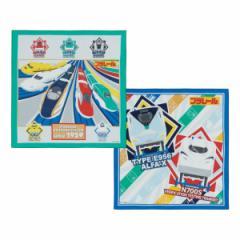 ランチクロス ナフキン 2枚入 プラレール 子供 ( キッズ ランチョンマット 弁当包み 三角巾 給食ナフキン キャラクター マット お弁当箱