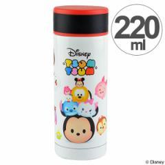水筒 直飲み ステンレスマグボトル ディズニー ツムツム 220ml スリム 保温 保冷 ( ステンレスマグ 真空二重構造 マグボトル ス