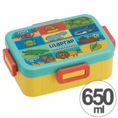 【アウトレット セール】お弁当箱 リラ・プラップ LilaPrap 4点ロックランチボックス 1段 650ml キャラクター ( 食洗機対応 弁当