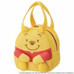 ダイカットバッグ くまのプーさん スケッチ スエット素材 キャラクター ( 子供用カバン スウェット素材 ダイカット かばん 鞄 カバ