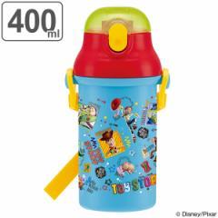 水筒 トイ・ストーリー 子供 キャラクター プラスチック製 ストローボトル 400ml ( 軽量 幼稚園 保育園 プラスチック ストロー プラ製ス