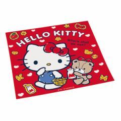 ランチクロス ナフキン ハローキティ 子供 キャラクター キティ ( ランチョンマット 幼稚園 保育園 お弁当包み ランチマット 給食ナフキ
