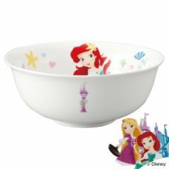 ラーメン鉢 子供 ディズニープリンセス どんぶり 磁器 食器 キャラクター ( 子供用食器 深皿 皿 食洗機対応 お皿 電子レンジ対応 うどん