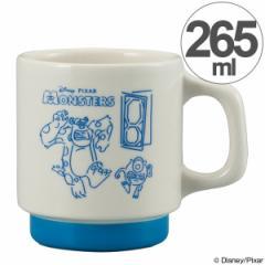 マグカップ モンスターズインク スケッチマグ 265ml 陶器 食器 スタッキング キャラクター ( 食洗機対応 カップ 電子レンジ対応 マグ コ