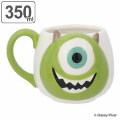 マグカップ 350ml モンスターズインク マイク フェイスマグ ディズニー キャラクター ( 電子レンジ対応 食洗機対応 カップ マグ コップ