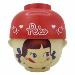 汁椀 茶碗 セット ミニ ペコちゃん 食器 お椀 磁器製 キャラクター ( お茶碗 汁碗 子供用食器 不二家 ぺこちゃん 子供用 ボウル 小鉢 子